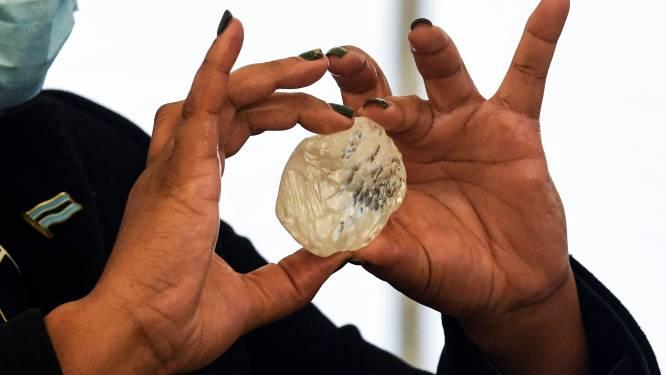 Derde grootste diamant ter wereld gevonden in Botswana