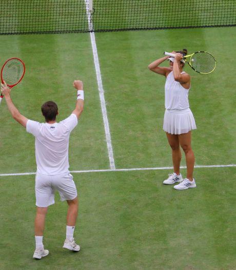 Krawczyk en Skupski winnen gemengd dubbel op Wimbledon