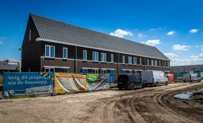 Nieuwbouw van sociale huurwoningen bij Beekse Akkers in Beek en Donk.