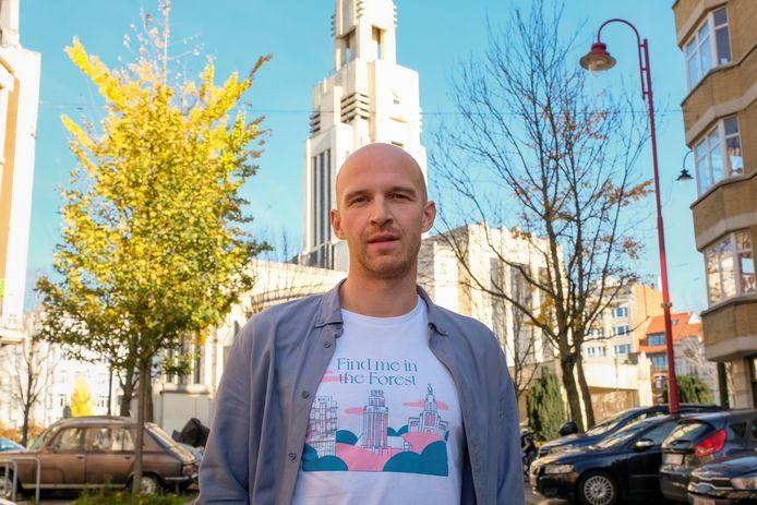 Kwinten Lambrecht van Shirts in Brussels.