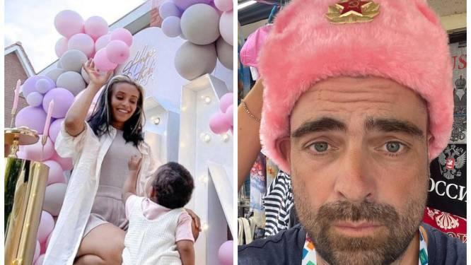 SHOWBITS. Nora Gharibs dochter viert haar eerste verjaardag en Pedro Elias kocht een zeer bijzondere muts