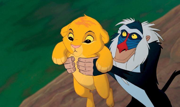 Still uit 'The Lion King' uit 1994. Beeld Walt Disney