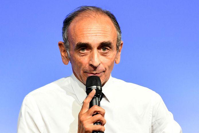 Eric Zemmour est à Nice, le 18 septembre 2021, pour présenter son nouveau livre : La France n'a pas dit son dernier mot.