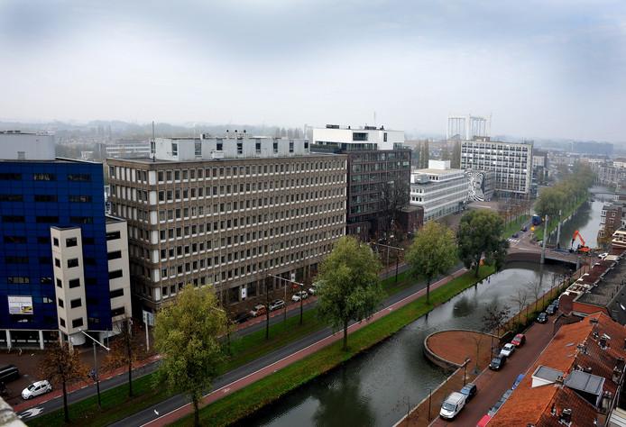 De Spuiboulevard moet autovrij worden tussen het Achterom tot en met het Stadskantoor.