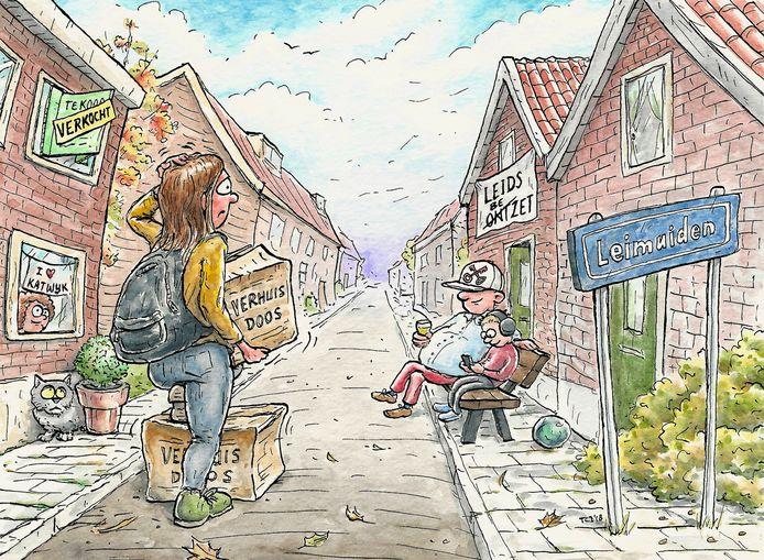 Het vinden van een koop- of huurhuis is geen makkie in Leimuiden.
