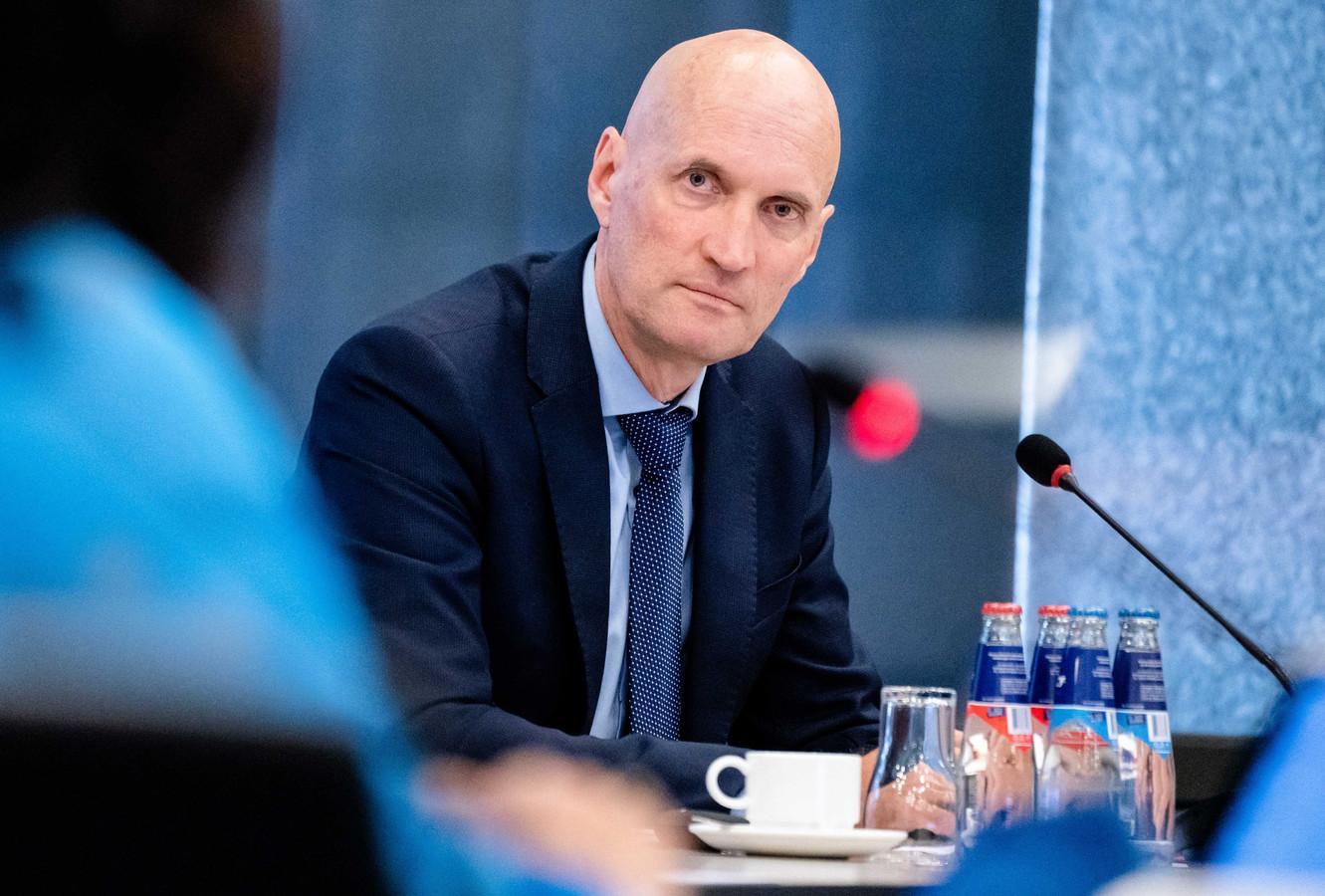 Voorzitter Ernst Kuipers van het Landelijk Netwerk Acute Zorg (LNAZ).