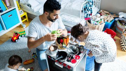Helft meer vaders met ouderschapsverlof