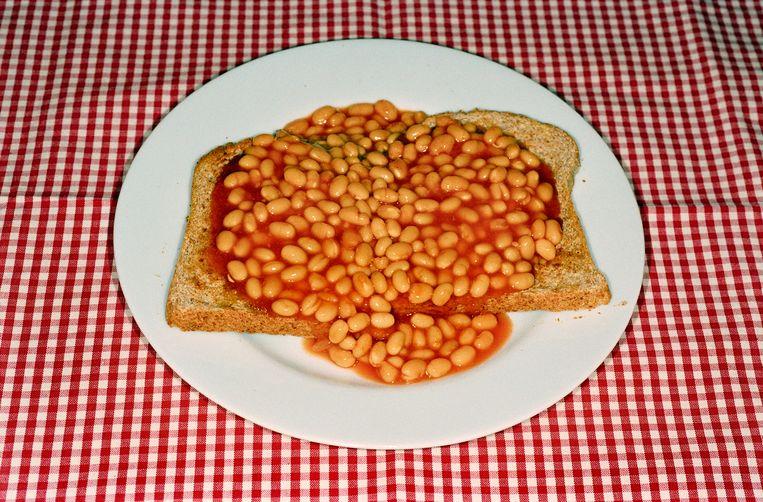 Baked beans in Bristol, 2005. Beeld Martin Parr/Magnum Photos