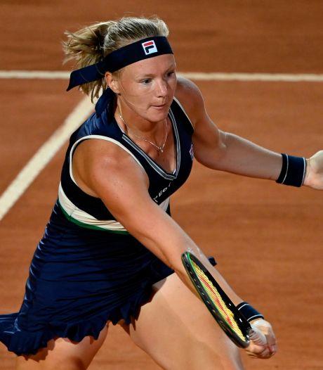 Bertens opent tweede dag Roland Garros op Court Suzanne Lenglen