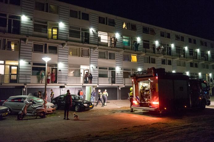 Brand in kelderbox Nijmegen.