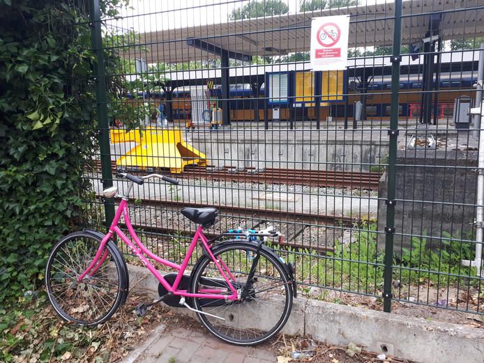 Extra bordjes om duidelijk te maken dat er bij het station in Dordrecht geen fietsen geparkeerd mogen worden, hebben amper vier uur geholpen.