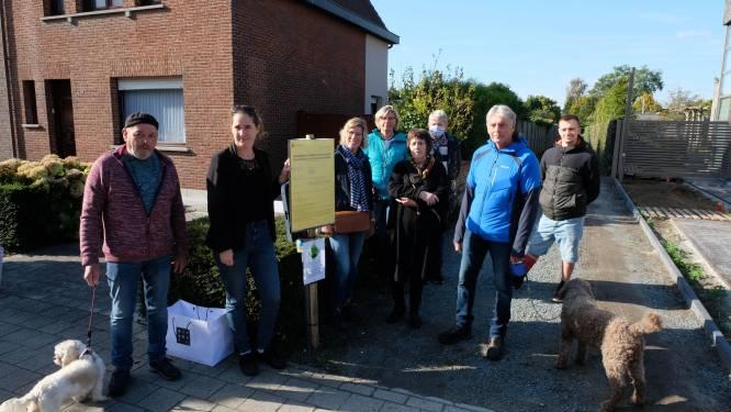 """Actiecomité verzet zich tegen verbreding buurtweg: """"Staan geen tuin af voor bouw garages"""""""
