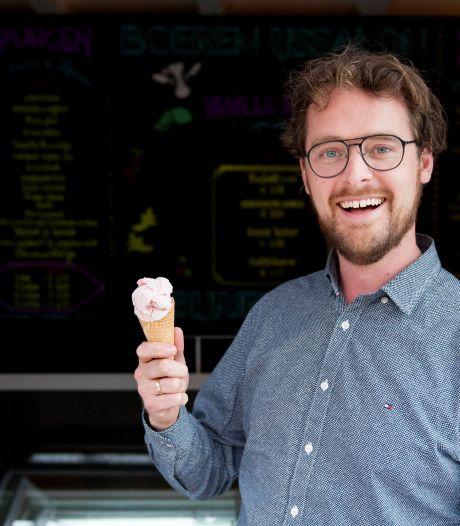 Nieuwe ijssalon in Den Nul met bijzonder Sallands ijs: 'Familiegeheim maakt ons softijs extra romig'