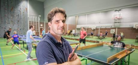 Martin Fierloos brengt tafeltennis terug in Goes (en meteen voor iedereen)