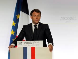 Napoleon legt 200 jaar na zijn dood mijnenveld voor Macron