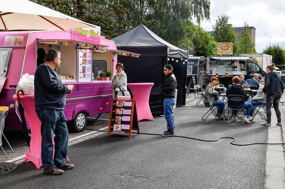 Een foodtruckfestival in Lebbeke.