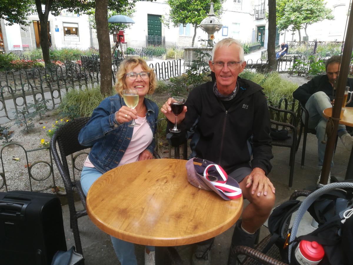 Benno Schotanus uit Houten met zijn vrouw Corrie.