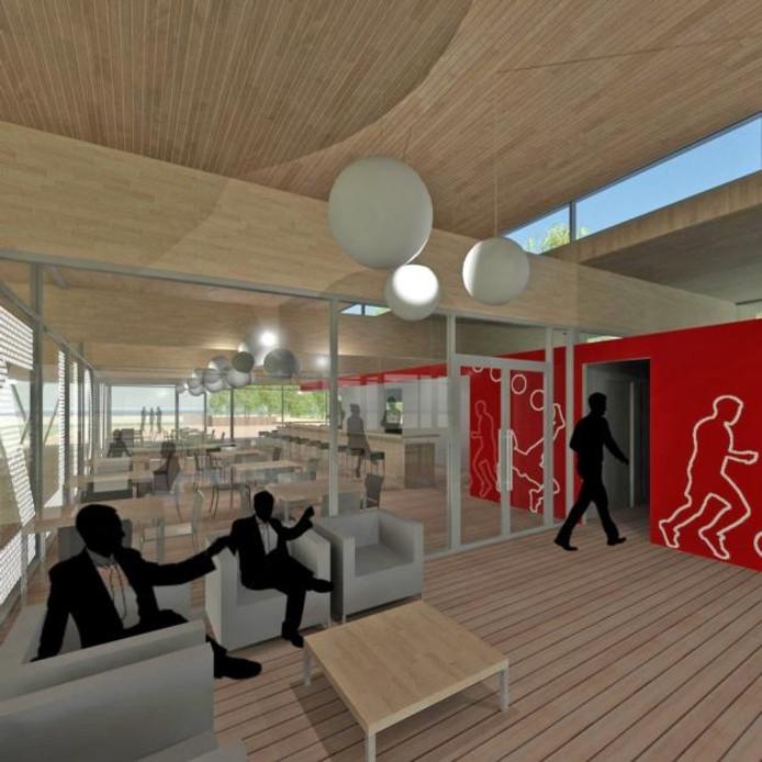 het nieuwe interieur van de kantine van vv gilze krijgt een moderne uitstraling oosterhout bndestemnl