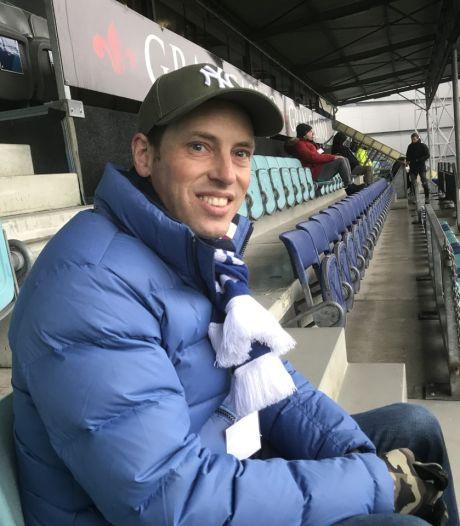 Geen fan mag het stadion in, behalve Patrick bij FC Den Bosch. Voor één keer: 'Ik voel me bevoorrecht'
