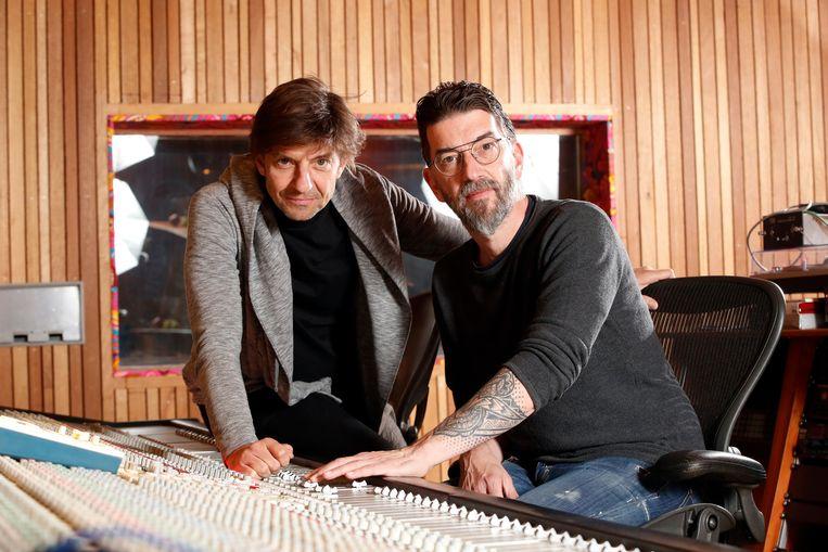 Een van de uithangborden van het initiatief is Clouseau. Gitarist Kris Wauters: 'We hebben hier nood aan.' Beeld Kristof Ghyselinck