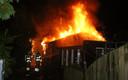 Weer chalet in brand op camping Kerkdriel
