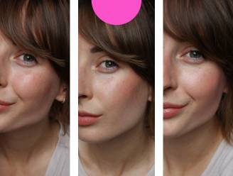 Van gelift tot vriendelijker: Redactrice Sophie toont hoe je met blush je gezicht er anders kan doen uitzien