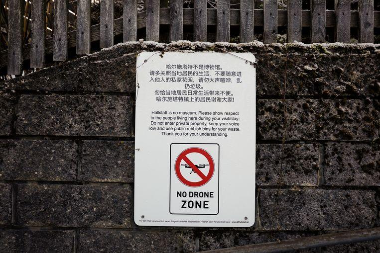 Hallstatt is een 'no drone zone'. Beeld Daniel Rosenthal