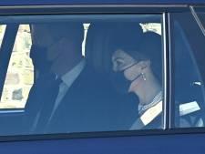 EN IMAGES: les membres de la famille royale arrivent au château de Windsor