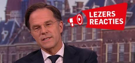 Lezers over tv-interview Mark Rutte: 'Rutte praat veel maar zegt niets'