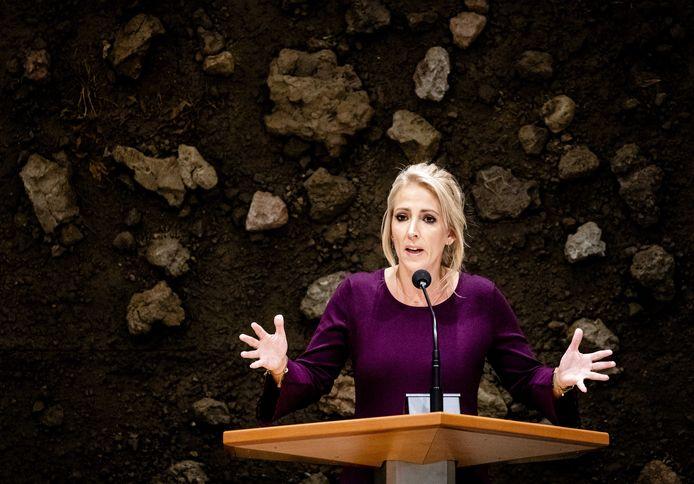 SP-fractievoorzitter Lilian Marijnissen.