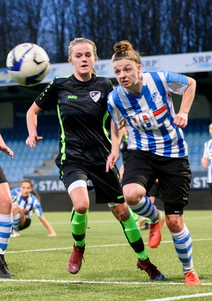 FC Eindhoven (l.) op archiefbeeld