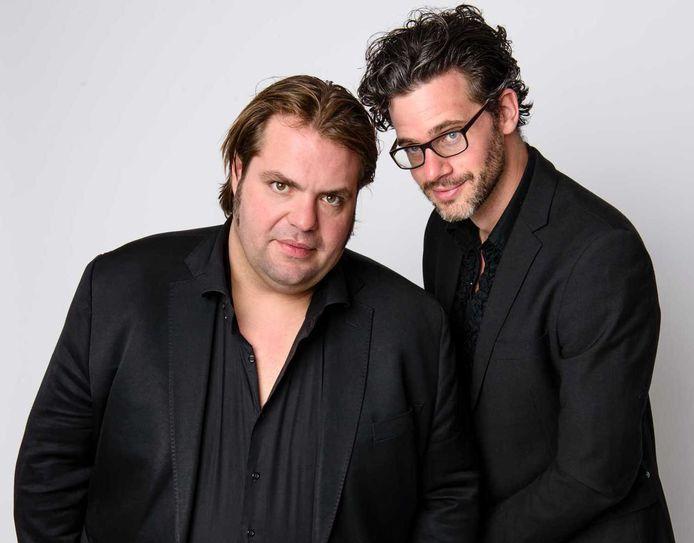 Frank Evenblij (links) en Erik Dijkstra.