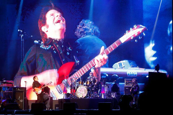 Bospop John Fogerty tijdens zijn optreden op Bospop