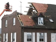 In Landhorst ging het dak eraf: 'Het was een windhoos'