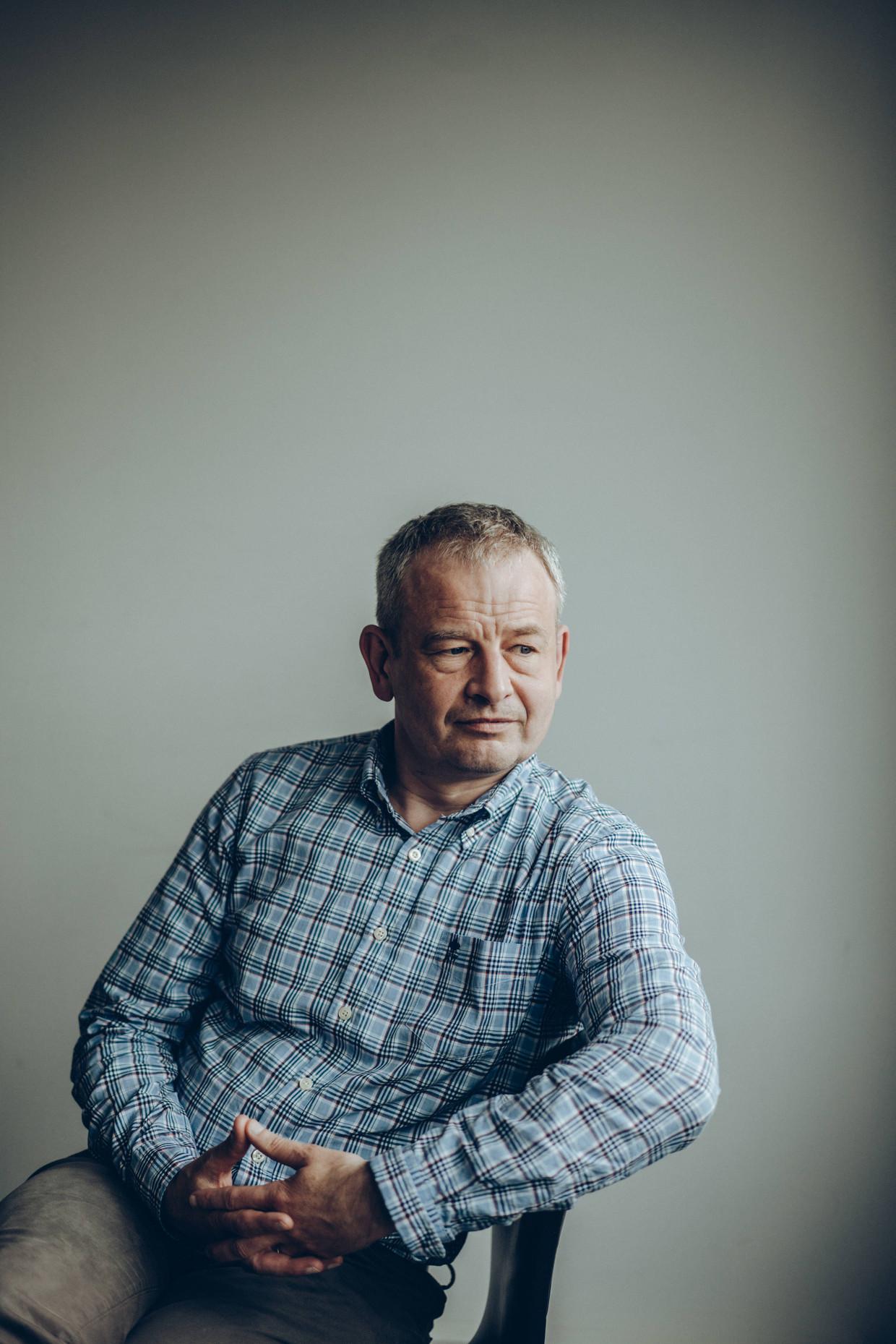 Bart Maddens: 'Wie weet zou Guy D'haeseleer wel een goede burgemeester voor Ninove zijn?' Beeld Thomas Sweertvaegher