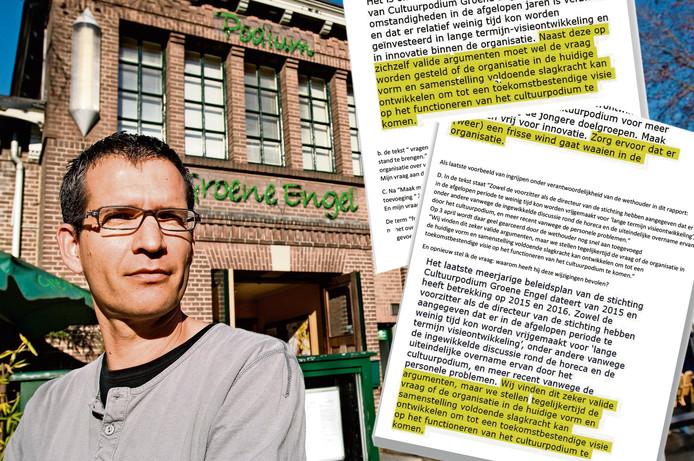 Oscar Jansen wees eerder al op de aanpassingen in het rapport van BMC.
