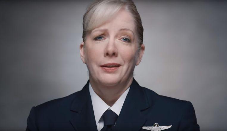 Chief Pilot Jennifer Henderson van Boeing Beeld Boeing