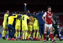 Vreugde bij Villarreal, ontgoocheling bij Arsenal.