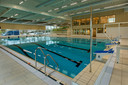 Het nieuwe zwembad Waalslag in Tiel.