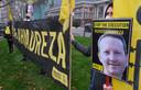 Manifestation d'Amnesty International devant l'ambassade d'Iran à Bruxelles le 30 novembre dernier.