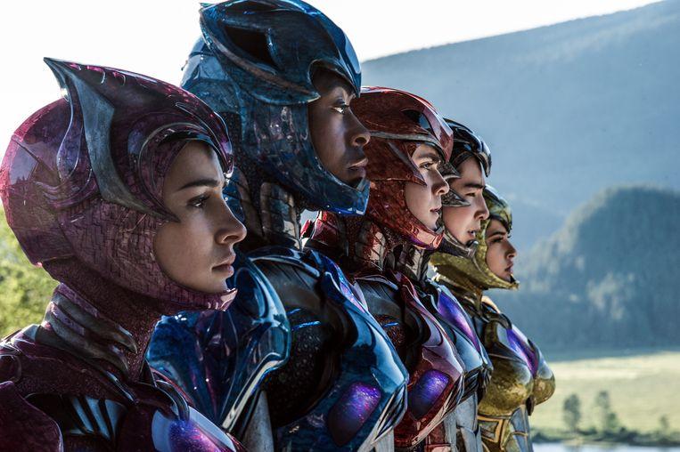 Still uit 'Power Rangers'. Beeld RV