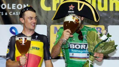 """Peter Sagan wordt in Aalst als een held onthaald, wint en viert op gepaste wijze: """"Ik kom graag naar deze stad"""""""
