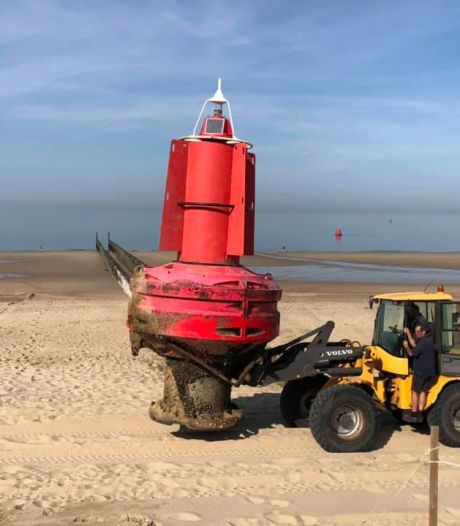Aangespoelde boei op Walchers strand blijkt een Vlaming