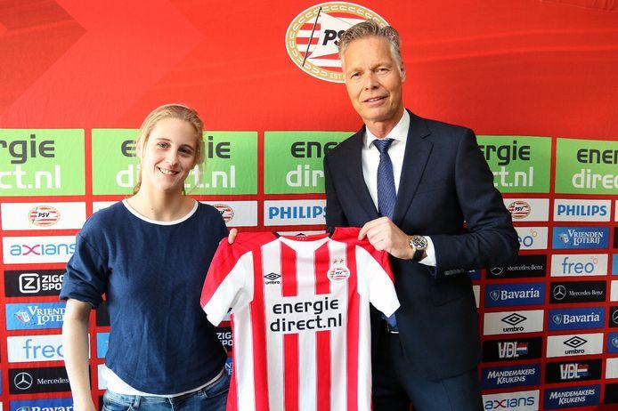 Katja Snoeijs tekent bij PSV.
