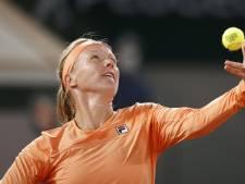 Kiki Bertens start in Doha tegen Jelena Ostapenko