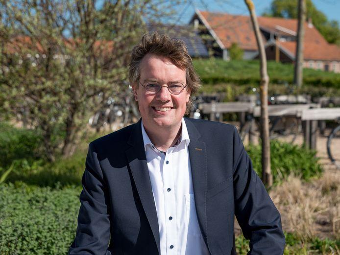 Wethouder Daniël Joppe van de gemeente Schouwen-Duiveland.