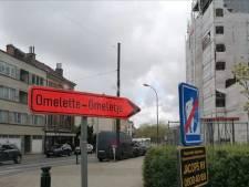 Un drôle de panneau de signalisation à Jette