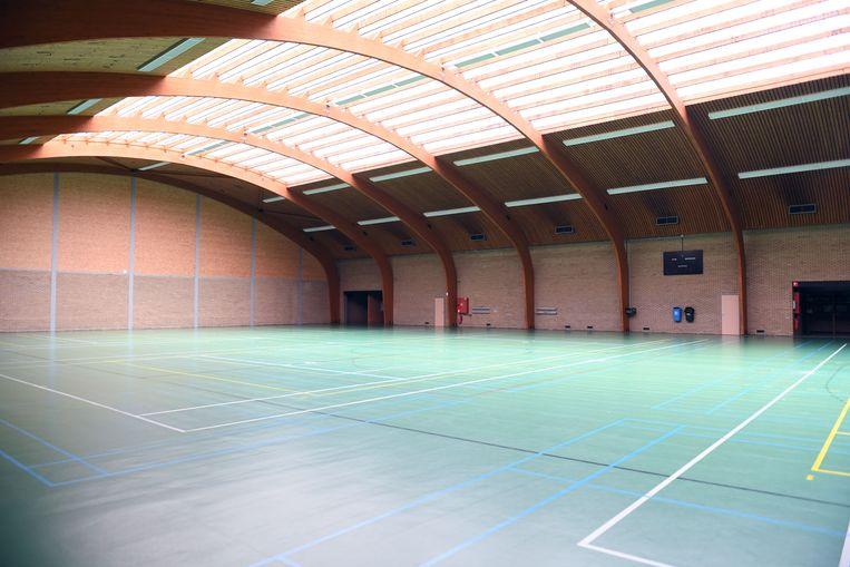 De sporthal in Kortenberg krijgt een nieuwe vloer.