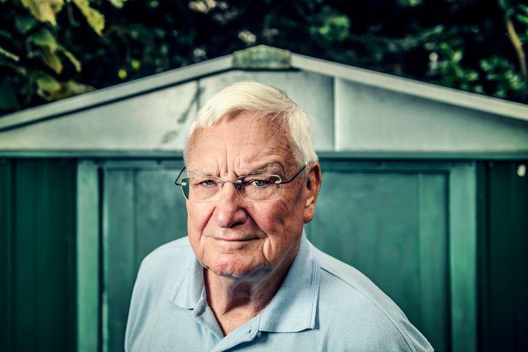Walter Zinzen: 'Martine heeft nooit een taalinspecteur nodig gehad. Het was zij die collega's wees op onjuiste uitspraken en grammaticale fouten.' Beeld Geert Van de Velde/Humo