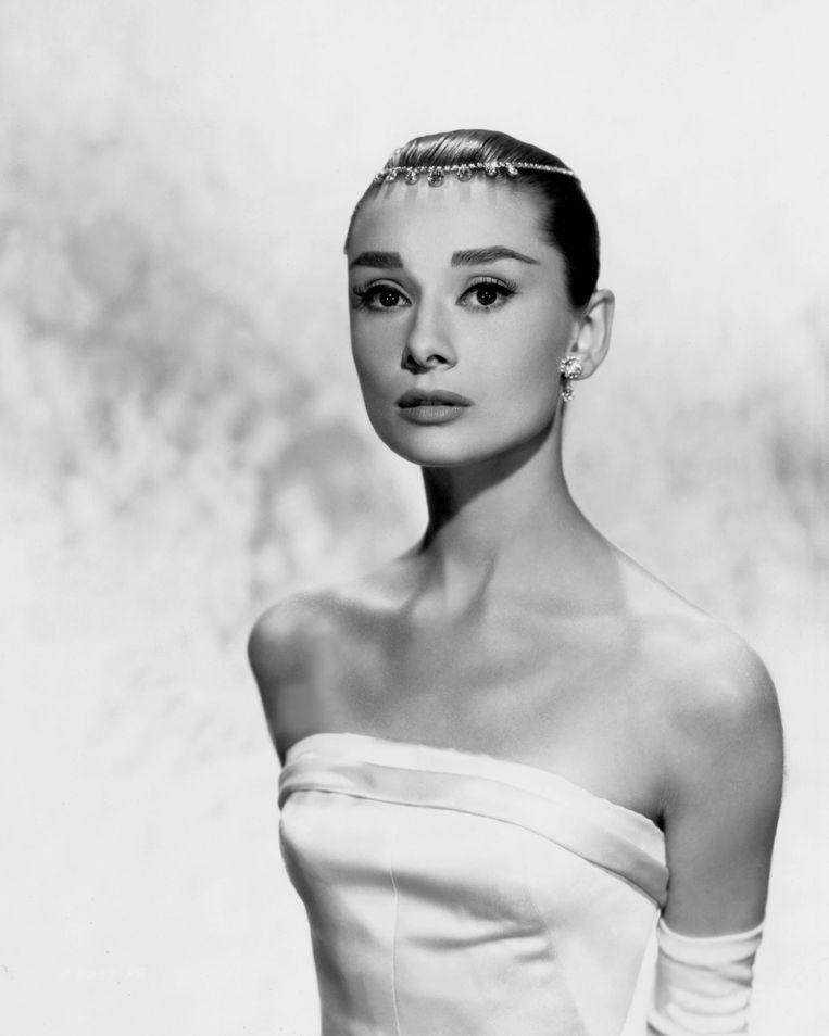 Audrey Hepburn in Funny Face Beeld Getty